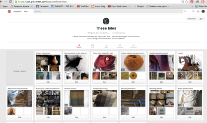 Promoting mine and oyters' work on my Pinterest page - a scrapbook of ideas